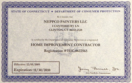 NEPPCO Home Improvement Contractor License